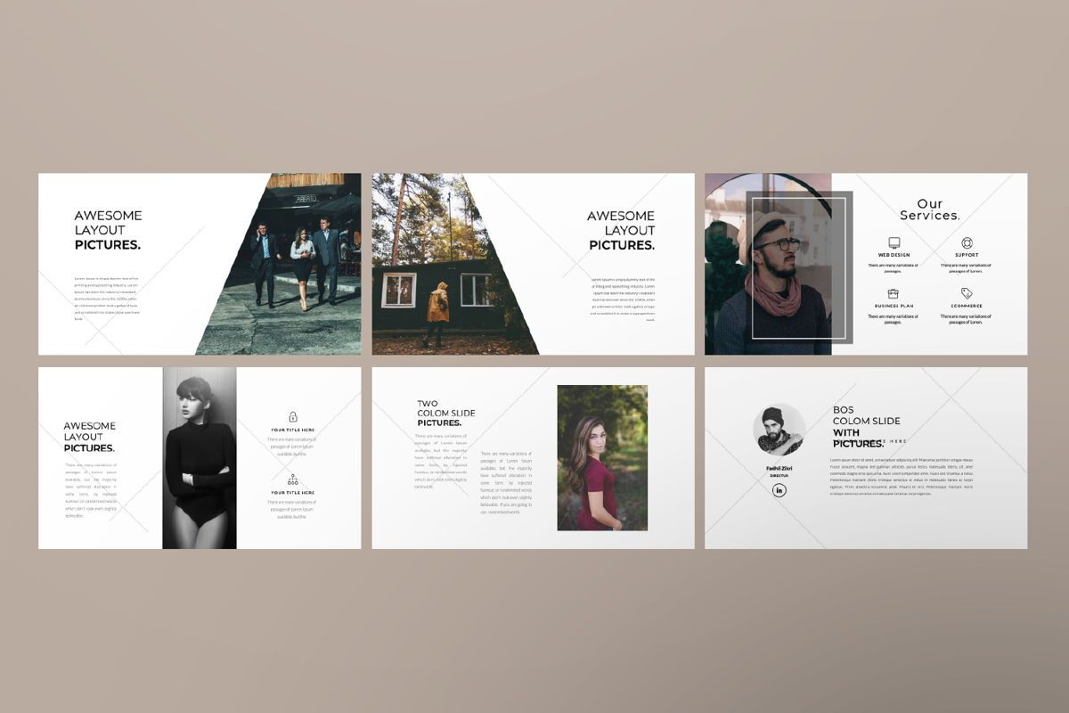 Inside Us Creative Keynote, Slide 6, 06656, Presentation Templates — PoweredTemplate.com