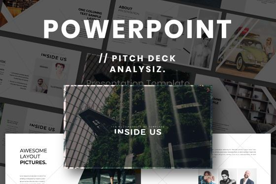 Presentation Templates: Inside Us Creative Powerpoint #06657