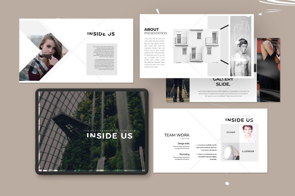 Inside Us Creative Powerpoint, Slide 11, 06657, Presentation Templates — PoweredTemplate.com