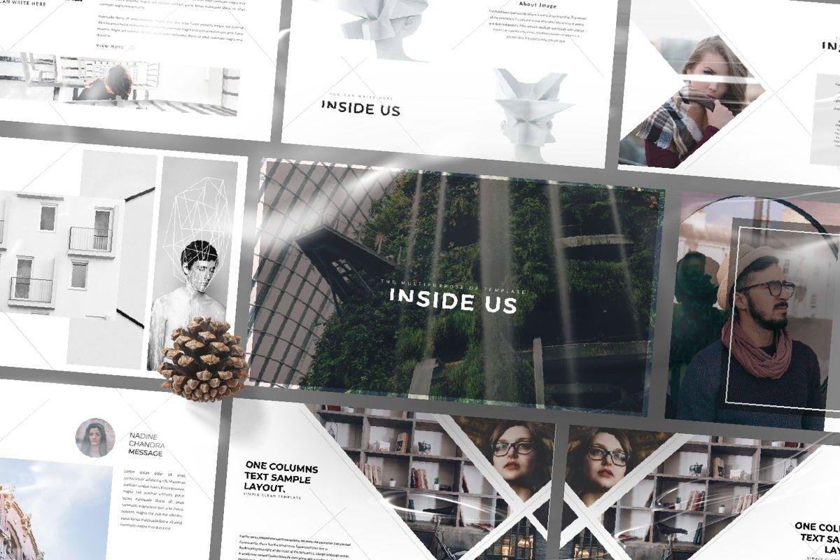 Inside Us Creative Powerpoint, Slide 12, 06657, Presentation Templates — PoweredTemplate.com