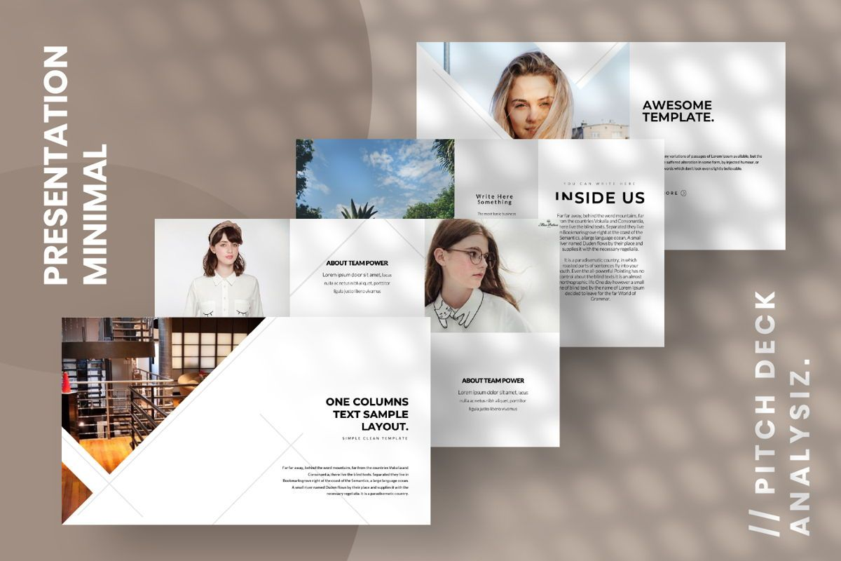 Inside Us Creative Powerpoint, Slide 14, 06657, Presentation Templates — PoweredTemplate.com