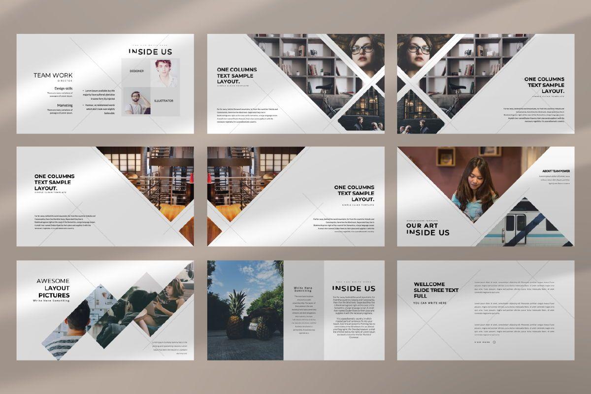 Inside Us Creative Powerpoint, Slide 3, 06657, Presentation Templates — PoweredTemplate.com
