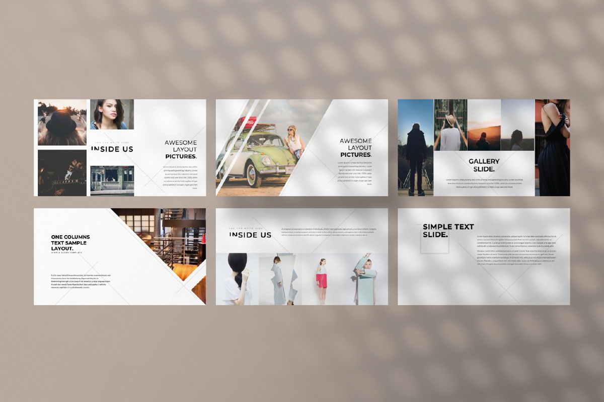 Inside Us Creative Powerpoint, Slide 4, 06657, Presentation Templates — PoweredTemplate.com