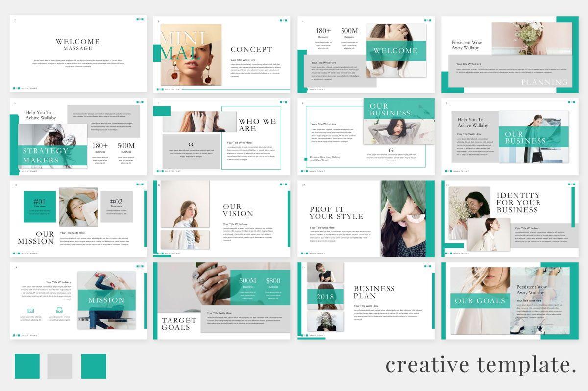Moonlight Business Google Slide, Slide 2, 06658, Presentation Templates — PoweredTemplate.com