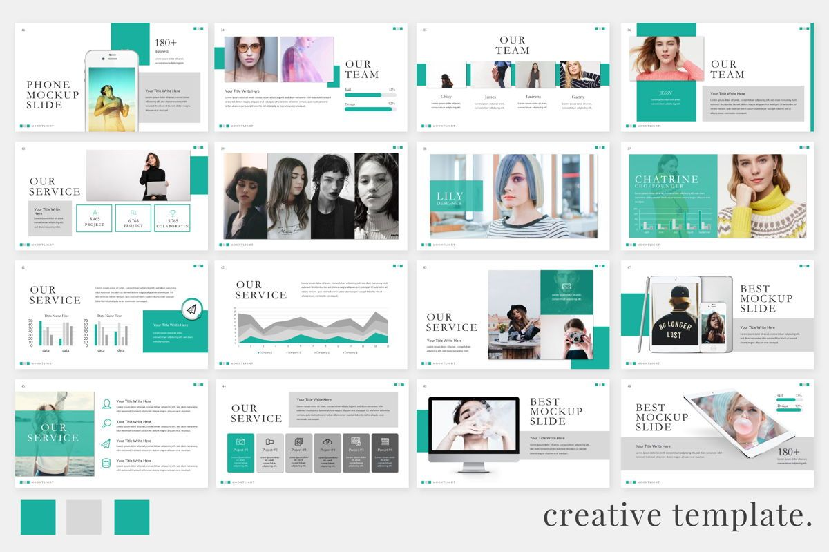 Moonlight Business Keynote, Slide 4, 06659, Presentation Templates — PoweredTemplate.com