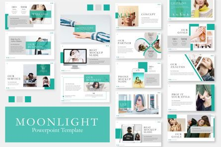 Presentation Templates: Moonlight Business Powerpoint #06660