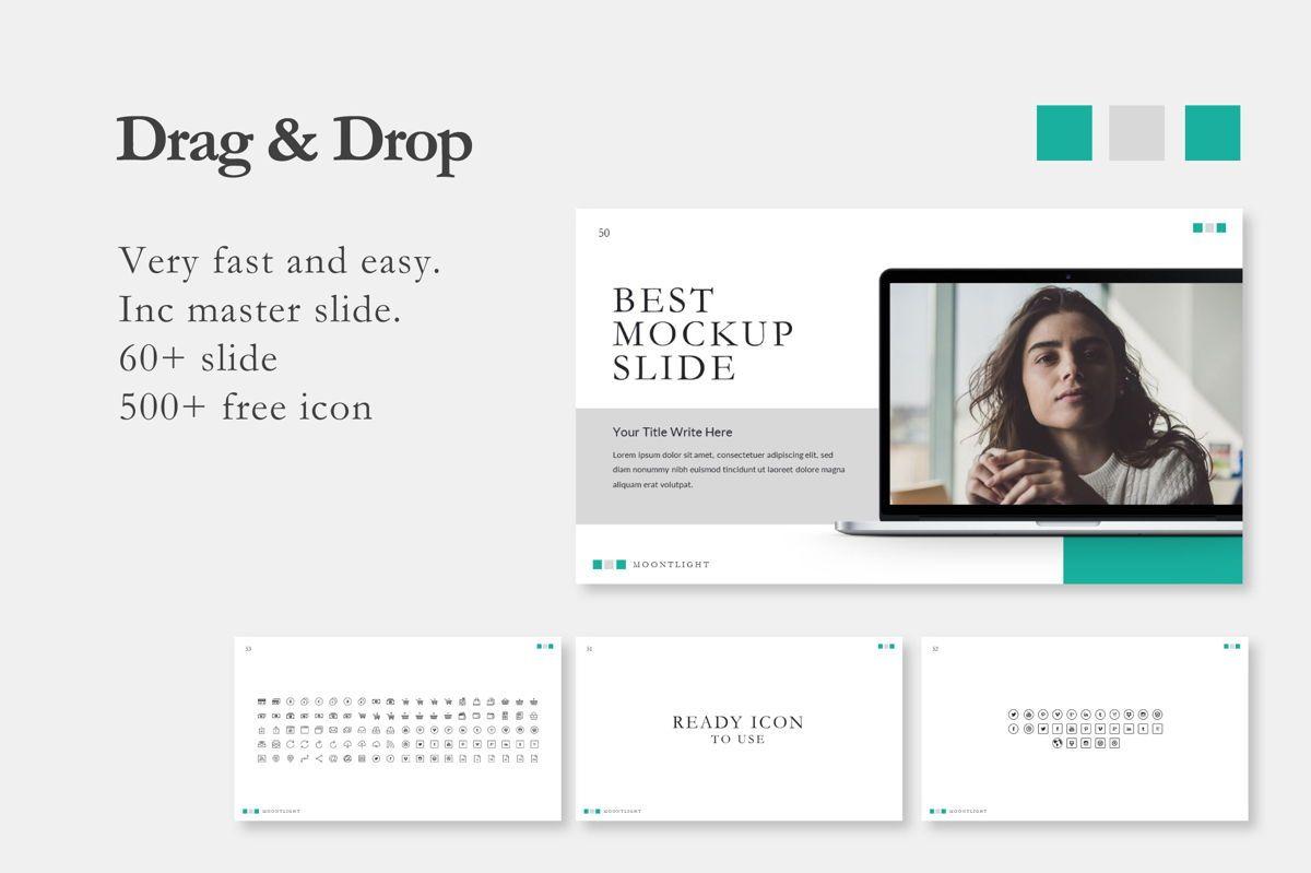 Moonlight Business Powerpoint, Slide 5, 06660, Presentation Templates — PoweredTemplate.com