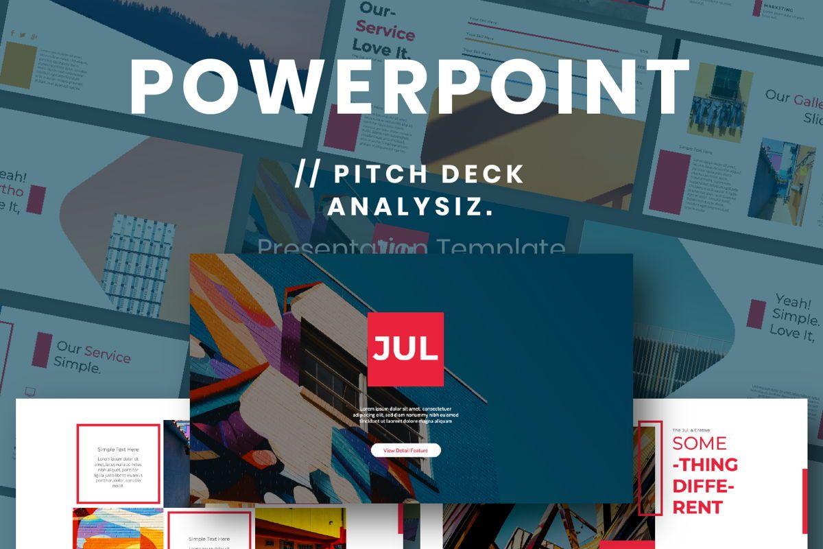 Jul Business Powerpoint, 06661, Presentation Templates — PoweredTemplate.com