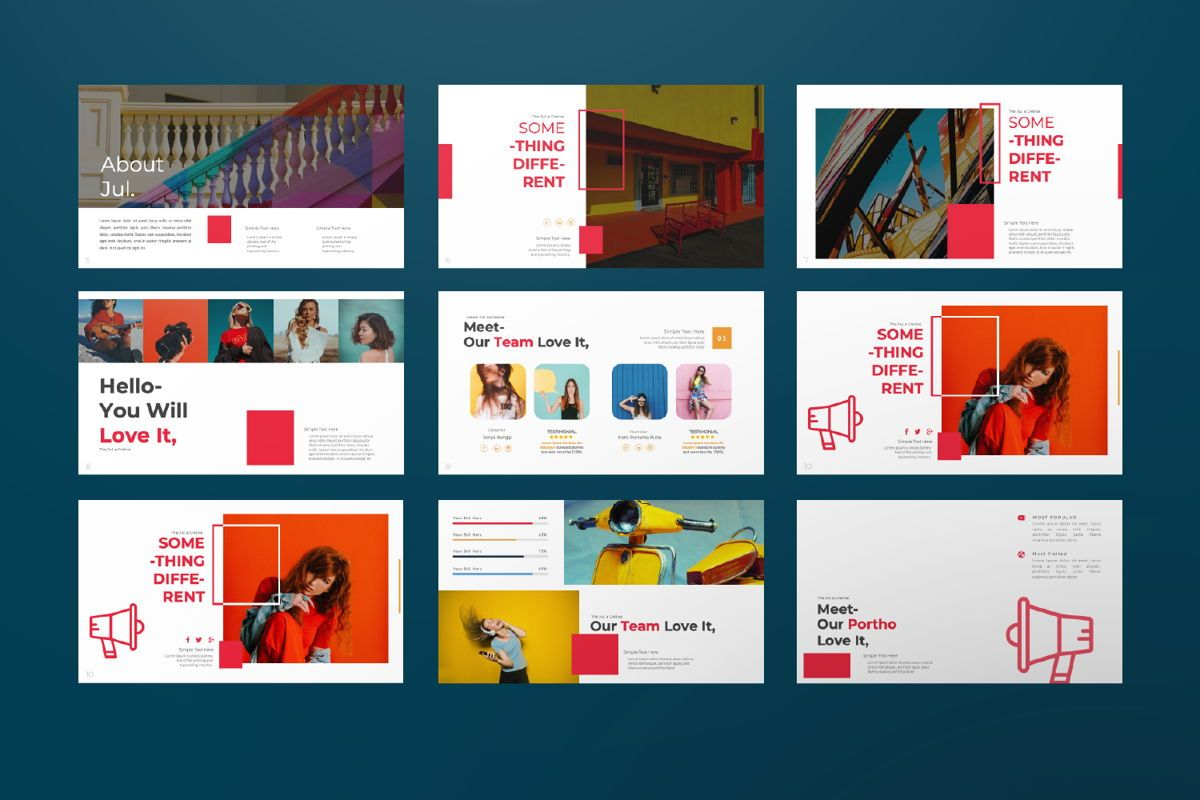 Jul Business Powerpoint, Slide 2, 06661, Presentation Templates — PoweredTemplate.com