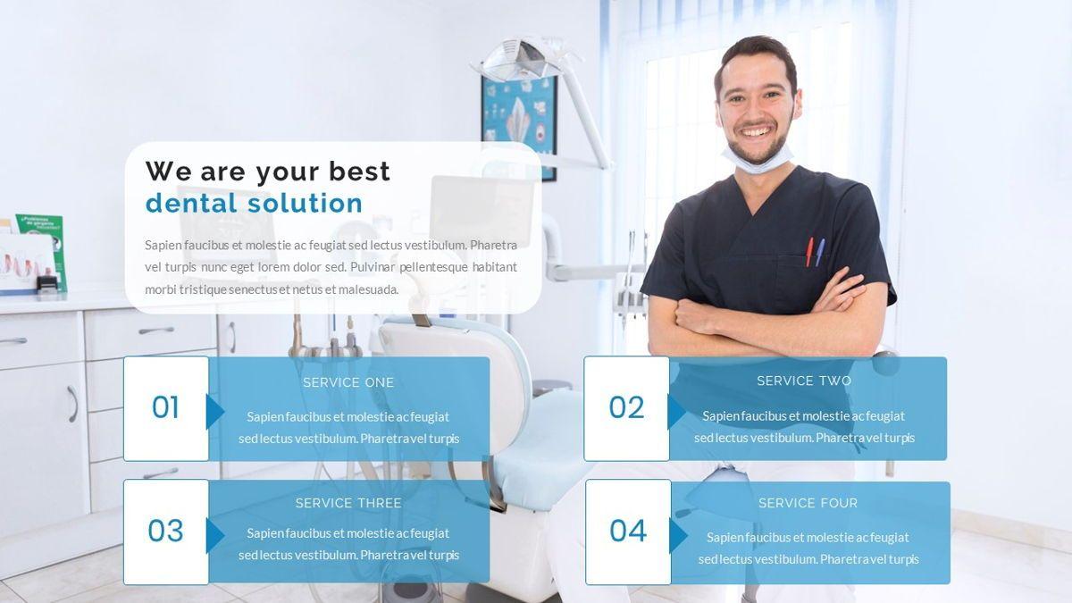 Dentalic - Dental Care Google Slide Template, Slide 10, 06662, Presentation Templates — PoweredTemplate.com