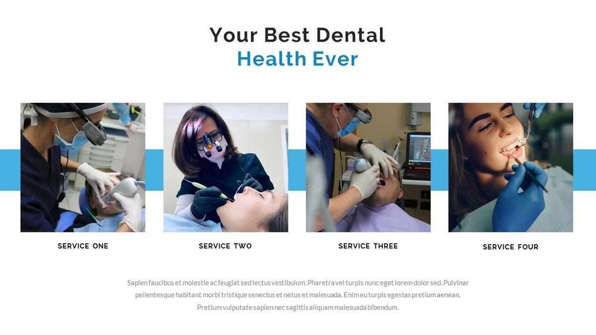 Dentalic - Dental Care Google Slide Template, Slide 11, 06662, Presentation Templates — PoweredTemplate.com