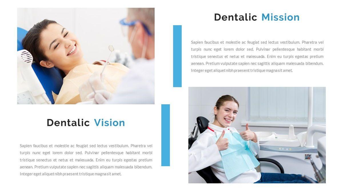 Dentalic - Dental Care Google Slide Template, Slide 13, 06662, Presentation Templates — PoweredTemplate.com