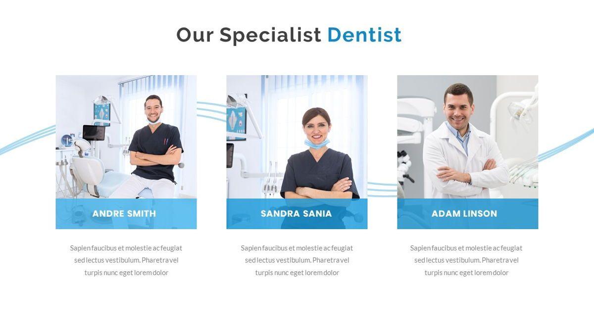 Dentalic - Dental Care Google Slide Template, Slide 14, 06662, Presentation Templates — PoweredTemplate.com
