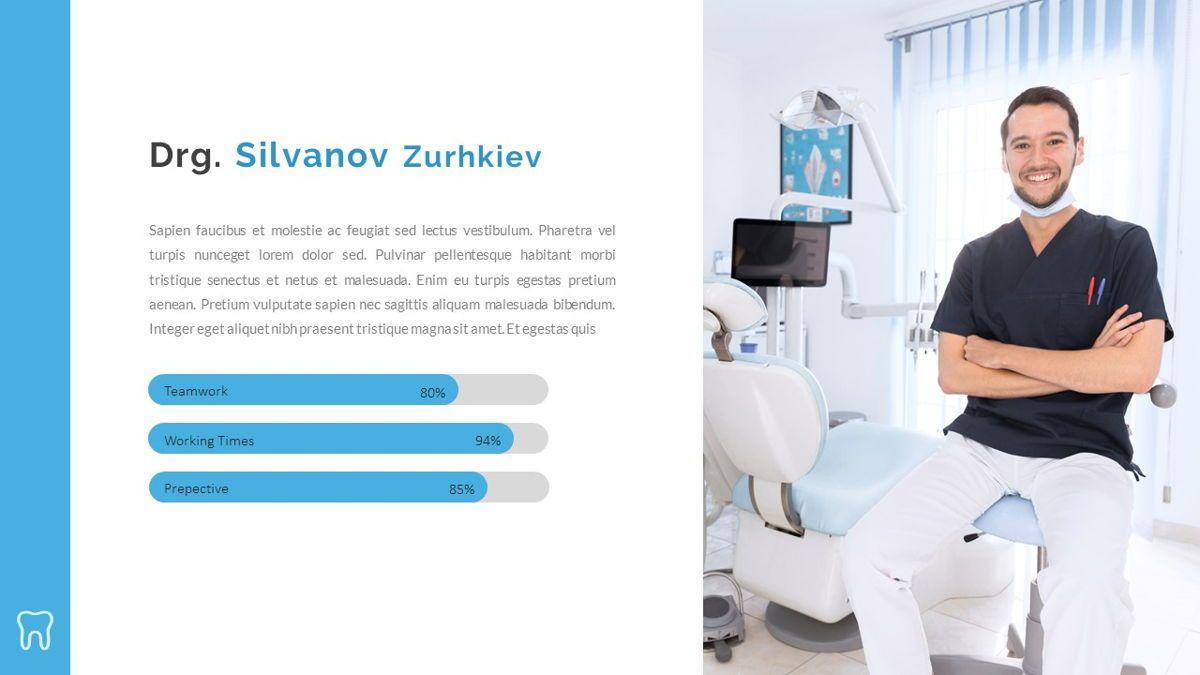 Dentalic - Dental Care Google Slide Template, Slide 17, 06662, Presentation Templates — PoweredTemplate.com