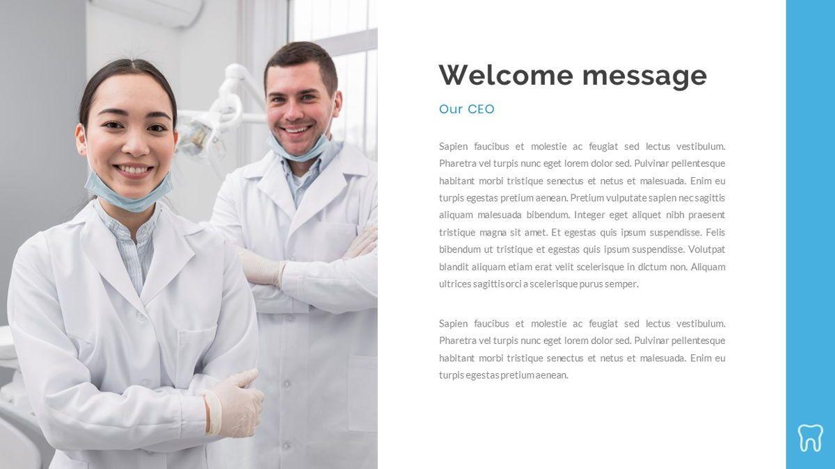 Dentalic - Dental Care Google Slide Template, Slide 2, 06662, Presentation Templates — PoweredTemplate.com