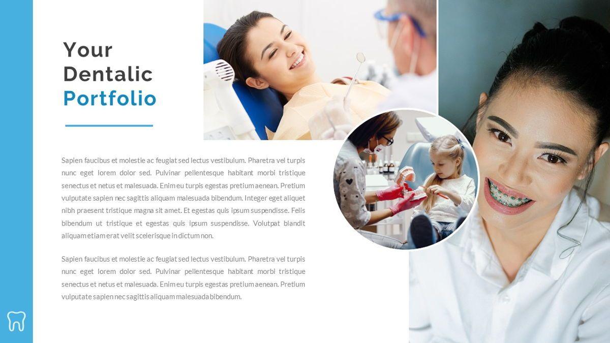 Dentalic - Dental Care Google Slide Template, Slide 20, 06662, Presentation Templates — PoweredTemplate.com