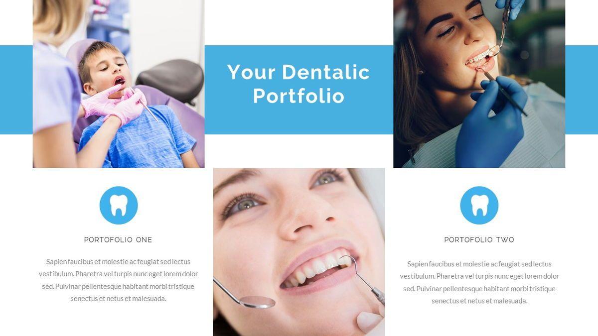 Dentalic - Dental Care Google Slide Template, Slide 21, 06662, Presentation Templates — PoweredTemplate.com