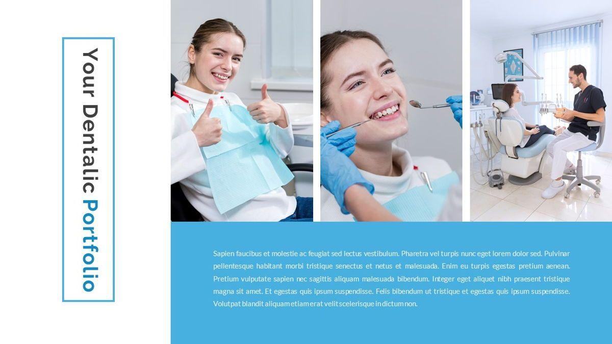 Dentalic - Dental Care Google Slide Template, Slide 22, 06662, Presentation Templates — PoweredTemplate.com