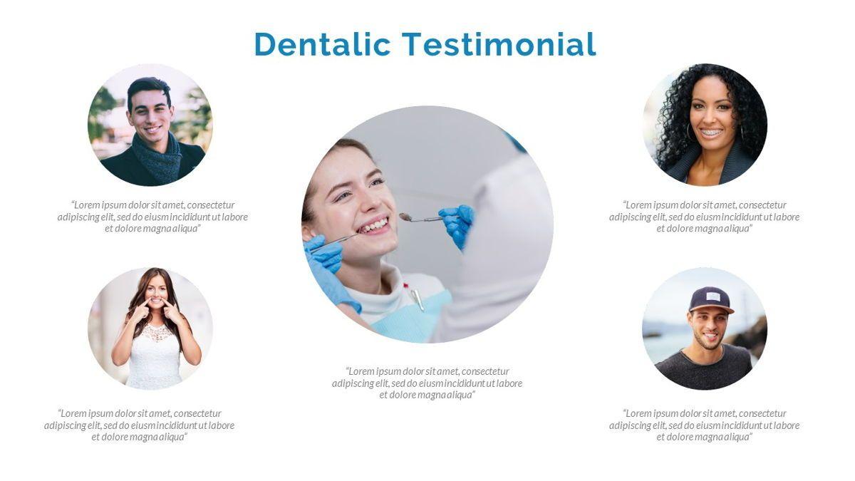 Dentalic - Dental Care Google Slide Template, Slide 23, 06662, Presentation Templates — PoweredTemplate.com