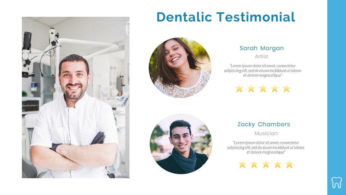Dentalic - Dental Care Google Slide Template, Slide 24, 06662, Presentation Templates — PoweredTemplate.com