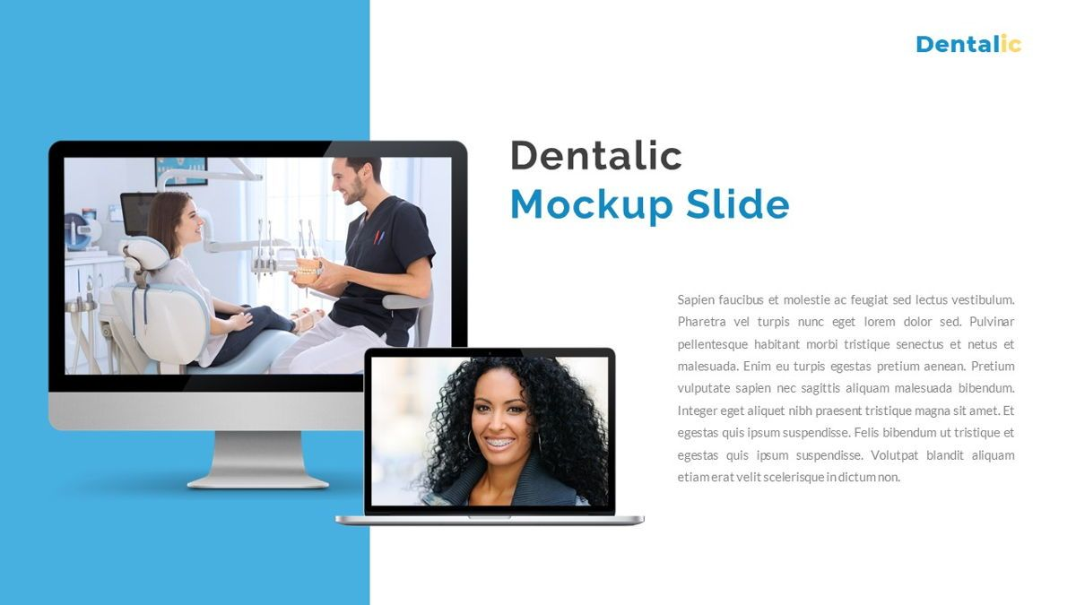 Dentalic - Dental Care Google Slide Template, Slide 25, 06662, Presentation Templates — PoweredTemplate.com