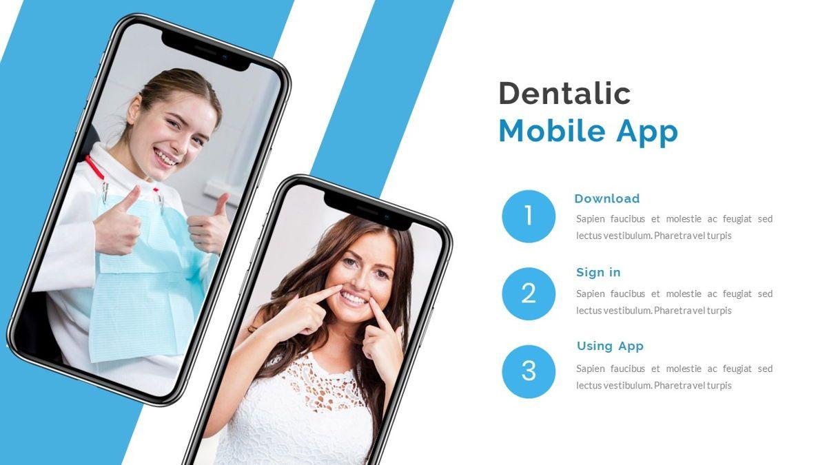 Dentalic - Dental Care Google Slide Template, Slide 26, 06662, Presentation Templates — PoweredTemplate.com