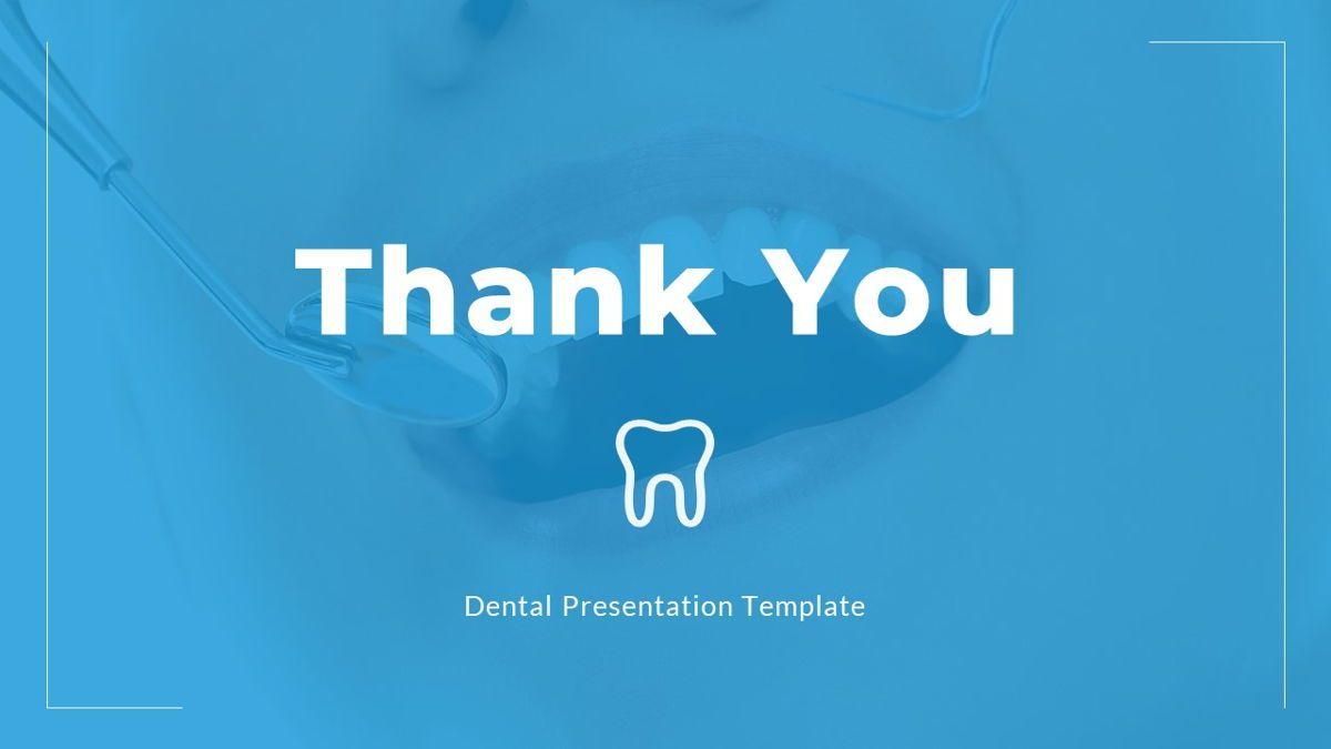 Dentalic - Dental Care Google Slide Template, Slide 37, 06662, Presentation Templates — PoweredTemplate.com