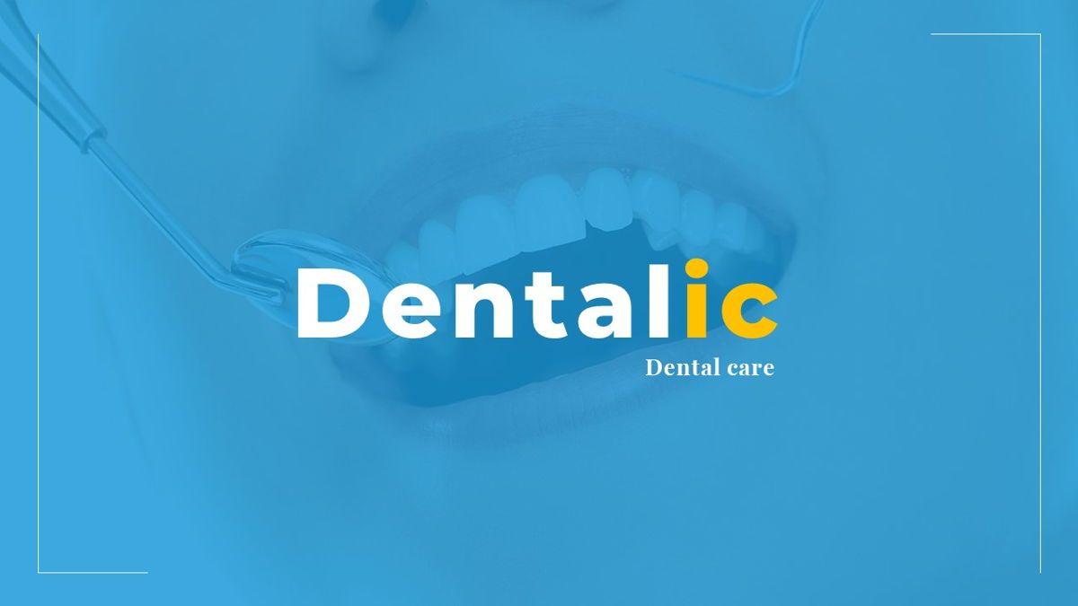 Dentalic - Dental Care Google Slide Template, Slide 38, 06662, Presentation Templates — PoweredTemplate.com