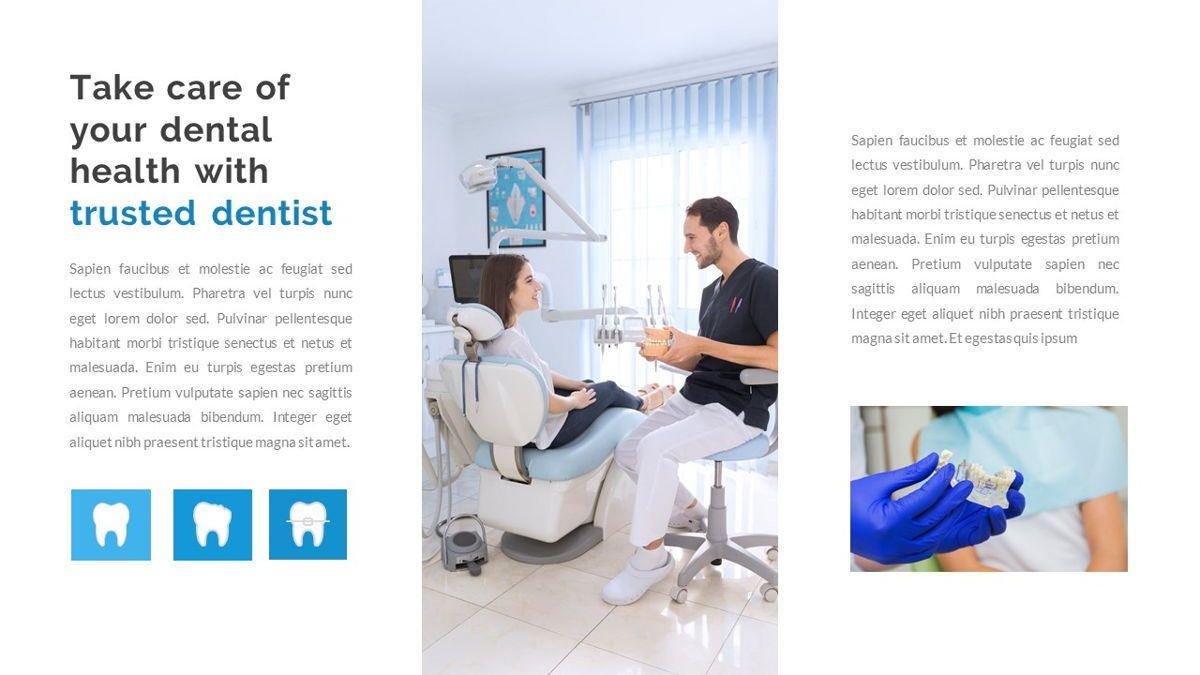 Dentalic - Dental Care Google Slide Template, Slide 6, 06662, Presentation Templates — PoweredTemplate.com