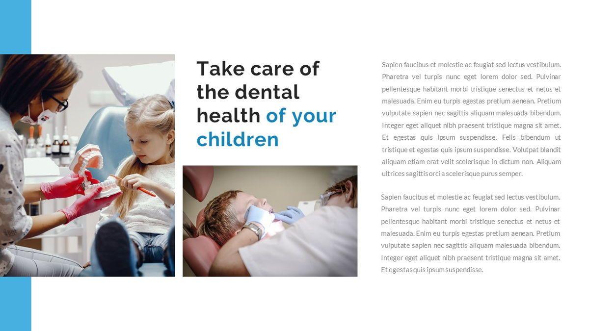 Dentalic - Dental Care Google Slide Template, Slide 7, 06662, Presentation Templates — PoweredTemplate.com