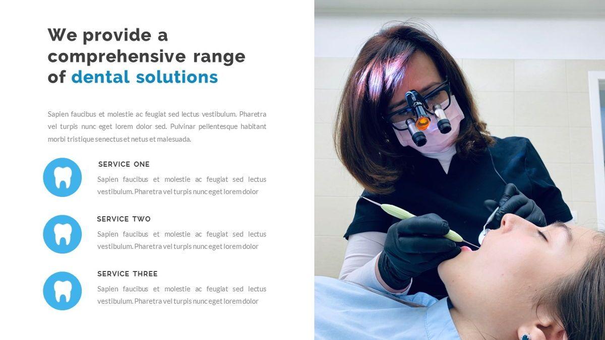 Dentalic - Dental Care Google Slide Template, Slide 9, 06662, Presentation Templates — PoweredTemplate.com
