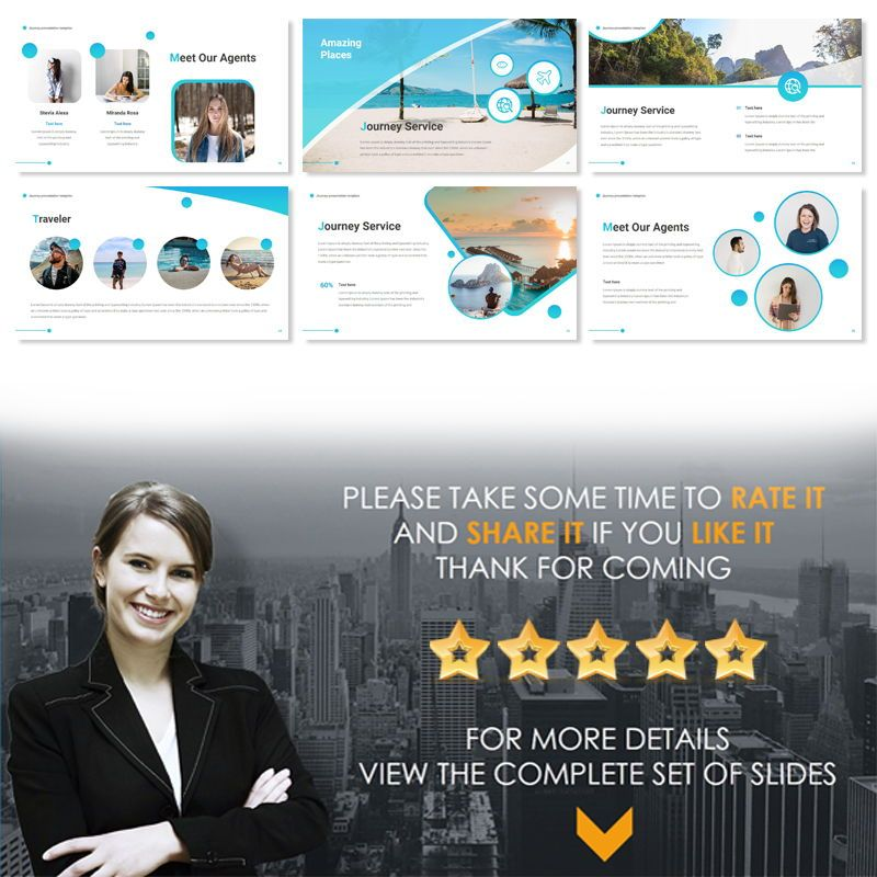 JOURNEY Powerpoint Presentation Template, Slide 2, 06663, Business Models — PoweredTemplate.com