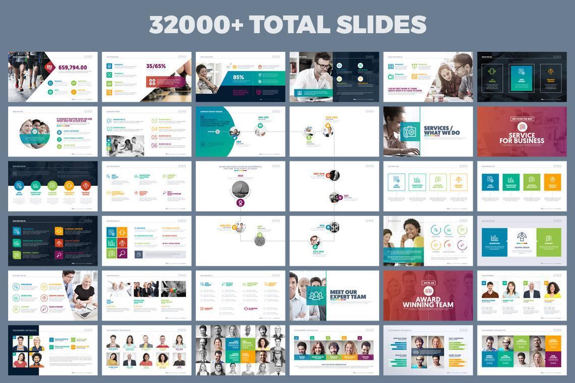 Mountain Presentation Template, Slide 3, 06671, Business Models — PoweredTemplate.com