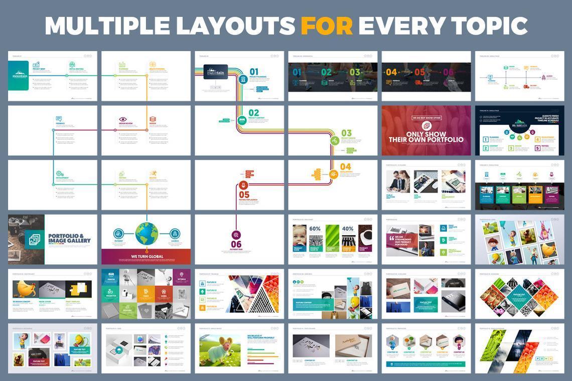 Mountain Presentation Template, Slide 7, 06671, Business Models — PoweredTemplate.com