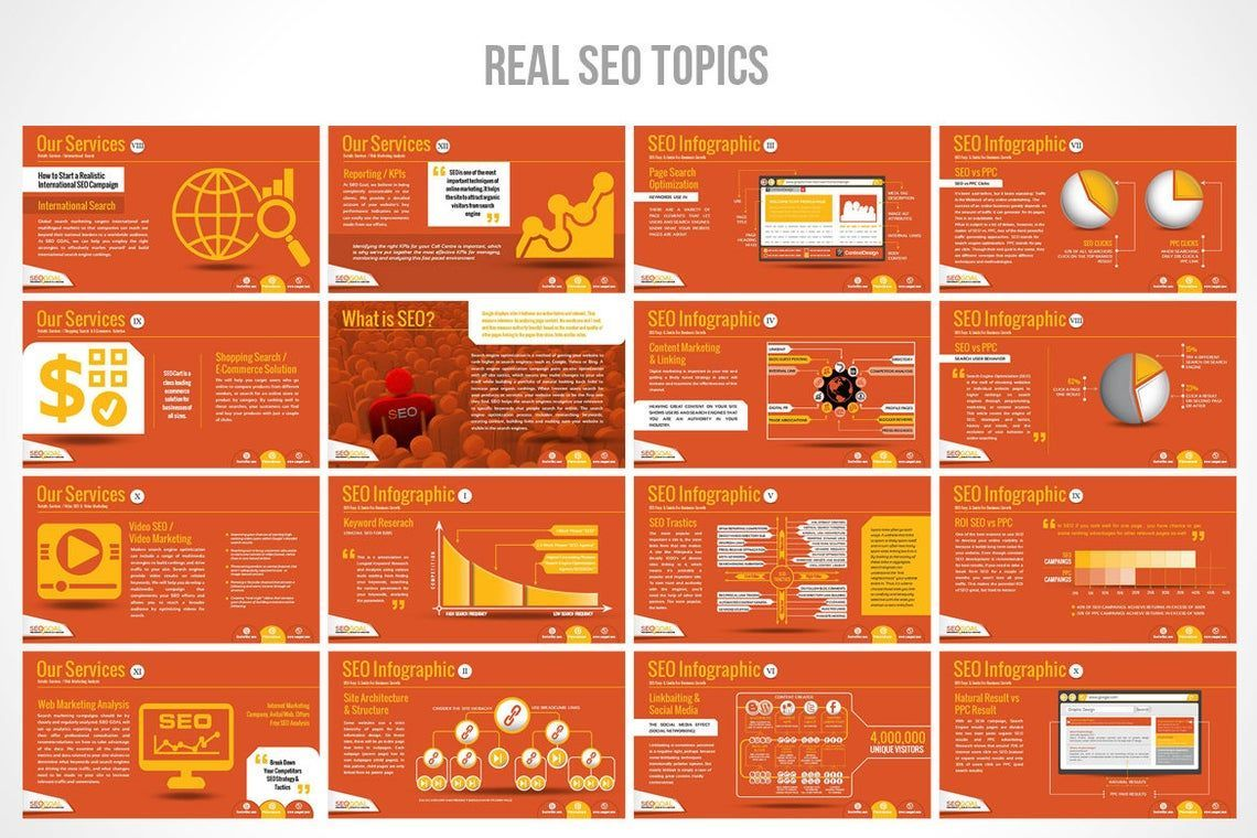 Search Engine Optimization Agency PowerPoint Template, Slide 3, 06672, Presentation Templates — PoweredTemplate.com