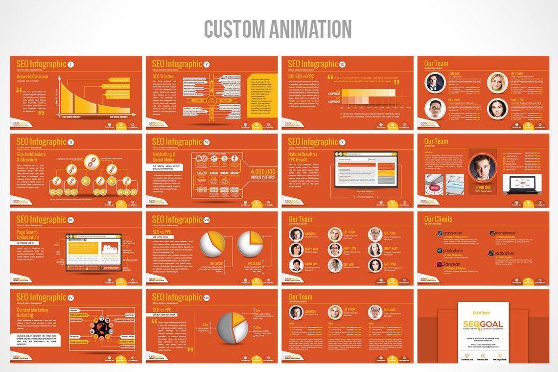 Search Engine Optimization Agency PowerPoint Template, Slide 4, 06672, Presentation Templates — PoweredTemplate.com