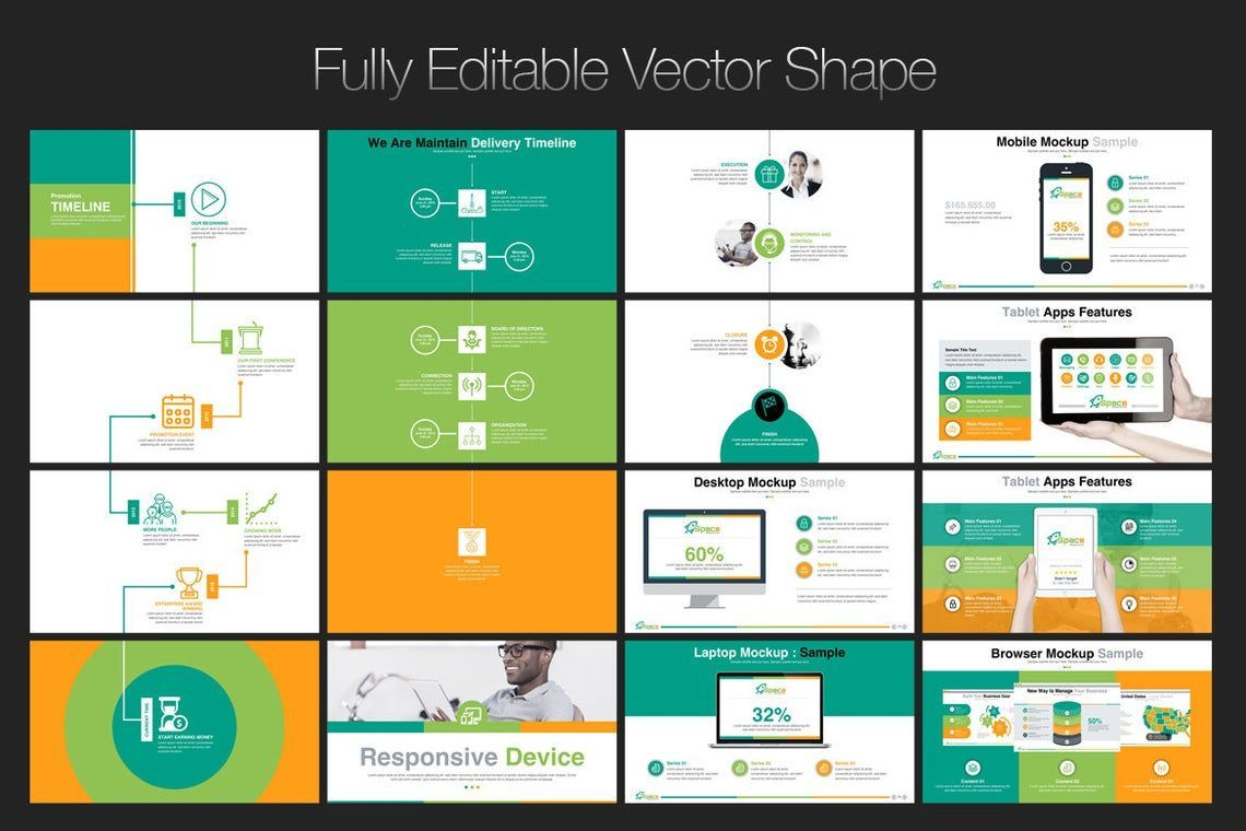 Space PowerPoint Template, Slide 6, 06673, Presentation Templates — PoweredTemplate.com