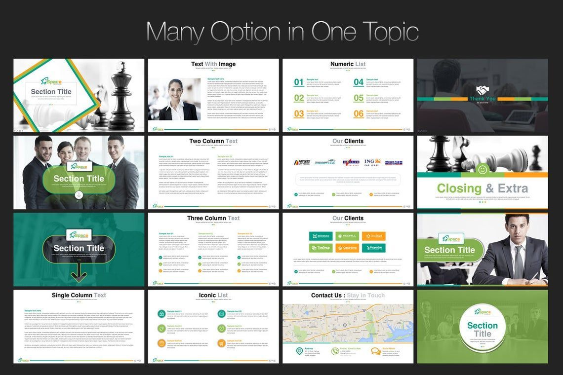 Space PowerPoint Template, Slide 8, 06673, Presentation Templates — PoweredTemplate.com
