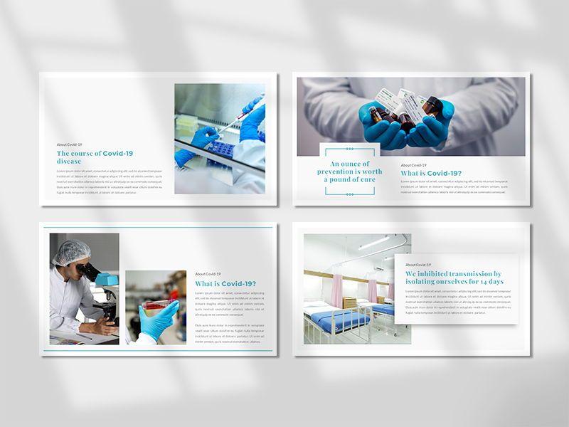 COVID-19 - Creative Business PowerPoint Template, Slide 2, 06674, Presentation Templates — PoweredTemplate.com