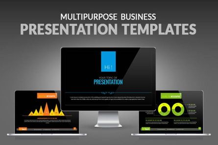 Presentation Templates: Multipurpose Business Presentation PowerPoint Template #06678