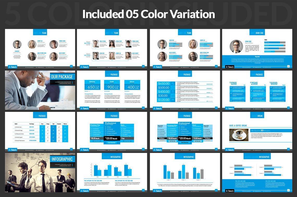 Multipurpose Business Presentation PowerPoint Template, Slide 5, 06678, Presentation Templates — PoweredTemplate.com