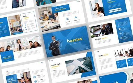 Presentation Templates: Buzzeies - Business presentation Template #06679