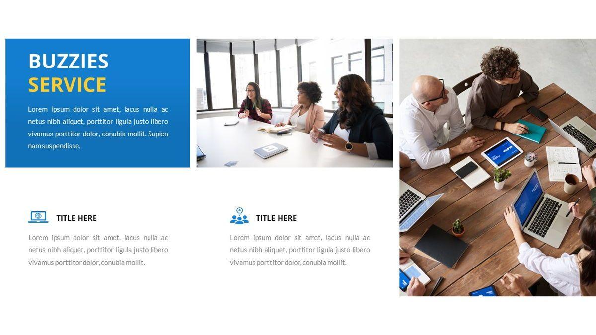 Buzzeies - Business presentation Template, Slide 16, 06679, Presentation Templates — PoweredTemplate.com