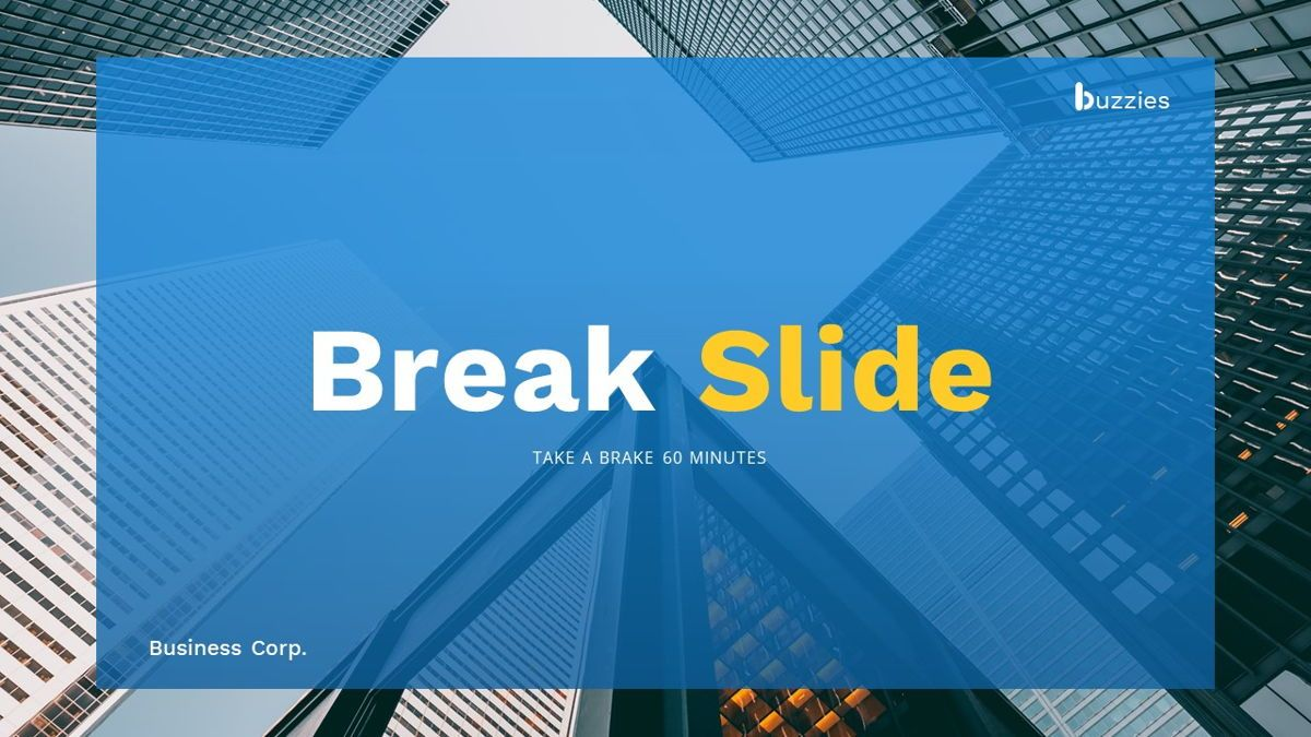 Buzzeies - Business presentation Template, Slide 18, 06679, Presentation Templates — PoweredTemplate.com