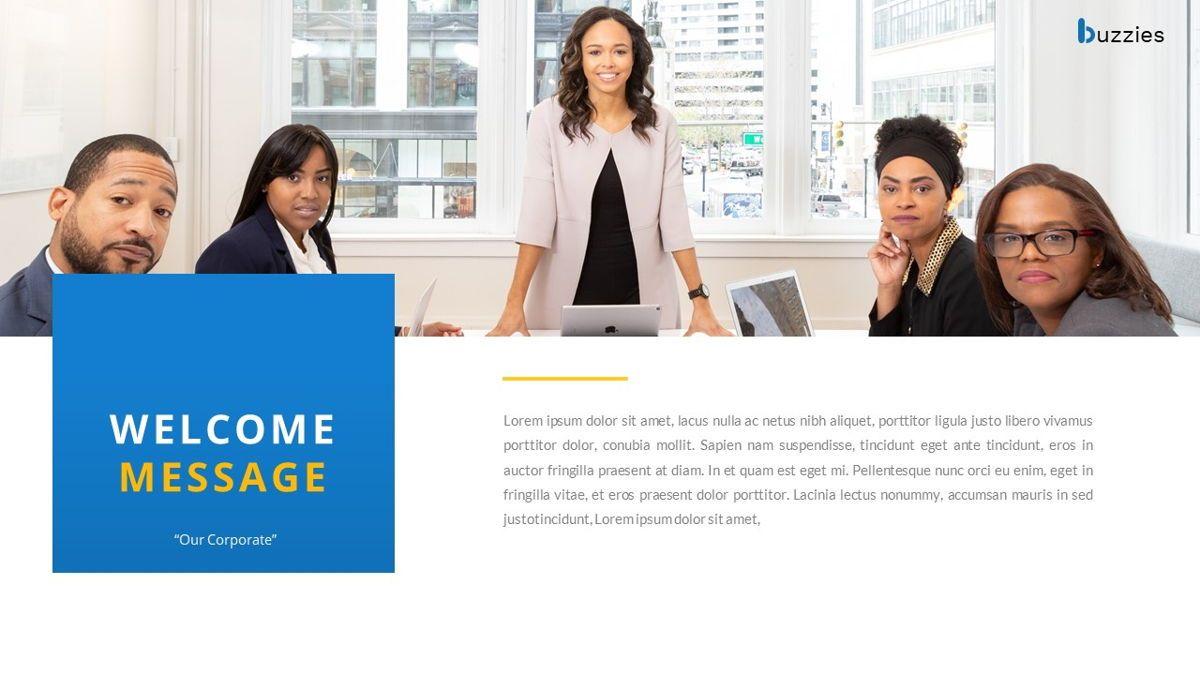 Buzzeies - Business presentation Template, Slide 2, 06679, Presentation Templates — PoweredTemplate.com