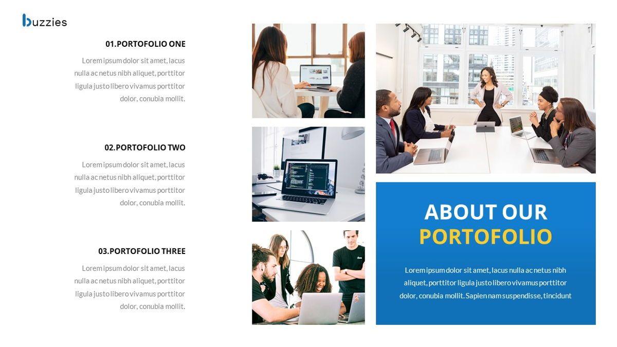 Buzzeies - Business presentation Template, Slide 22, 06679, Presentation Templates — PoweredTemplate.com