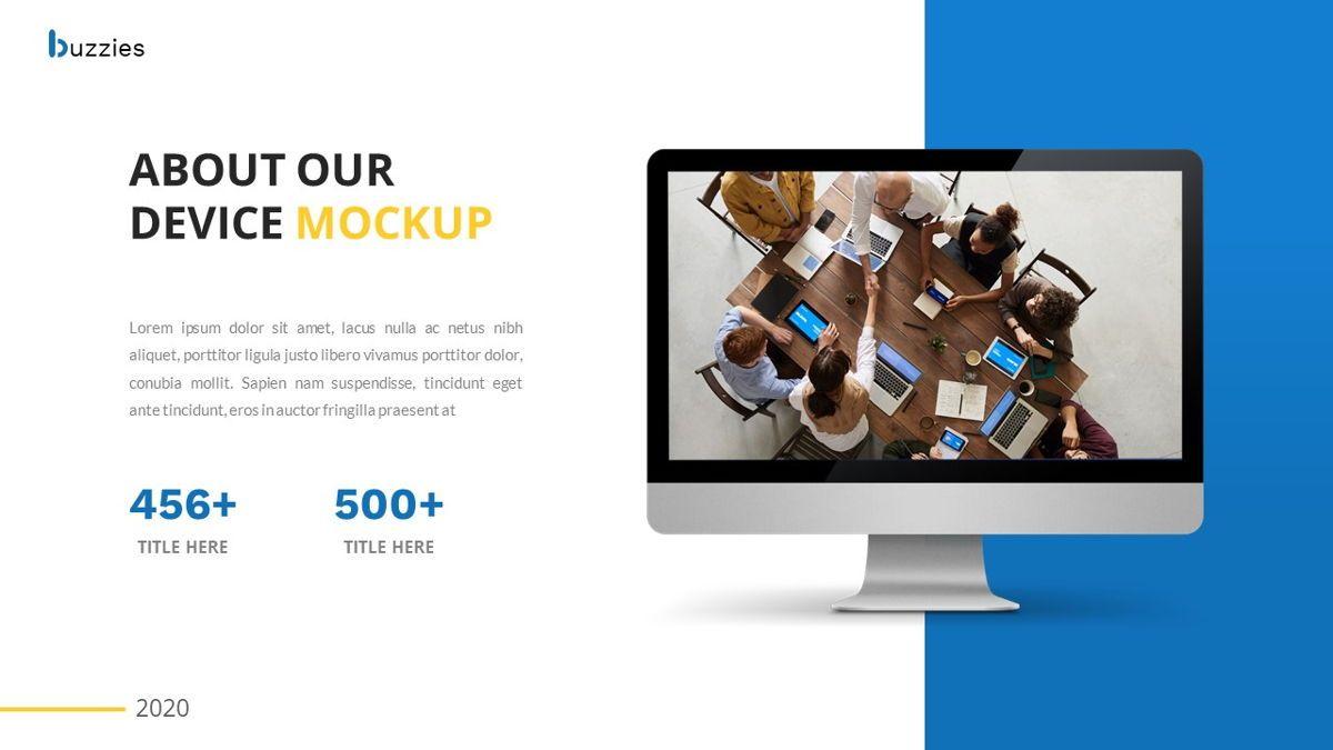 Buzzeies - Business presentation Template, Slide 24, 06679, Presentation Templates — PoweredTemplate.com
