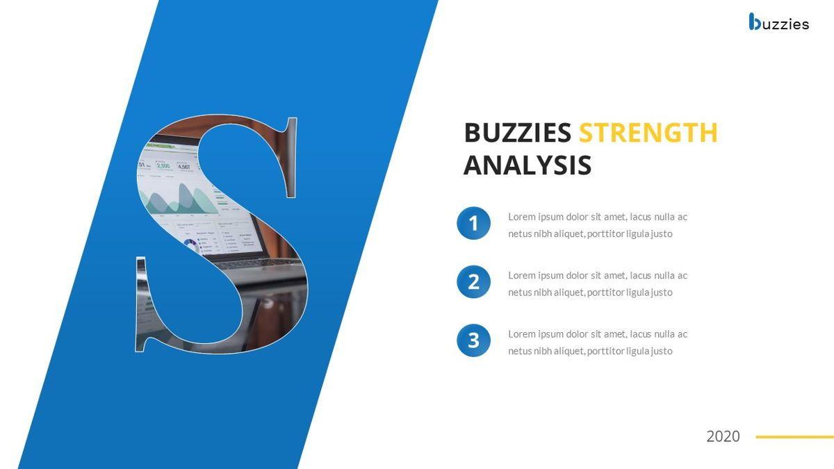 Buzzeies - Business presentation Template, Slide 26, 06679, Presentation Templates — PoweredTemplate.com