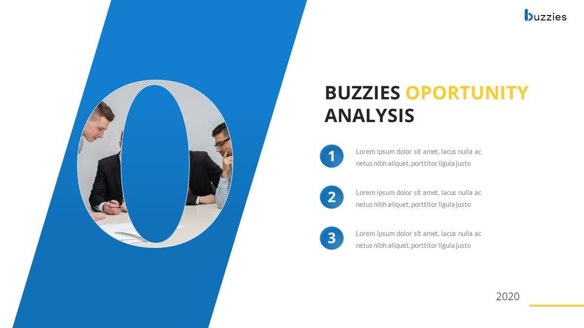 Buzzeies - Business presentation Template, Slide 28, 06679, Presentation Templates — PoweredTemplate.com
