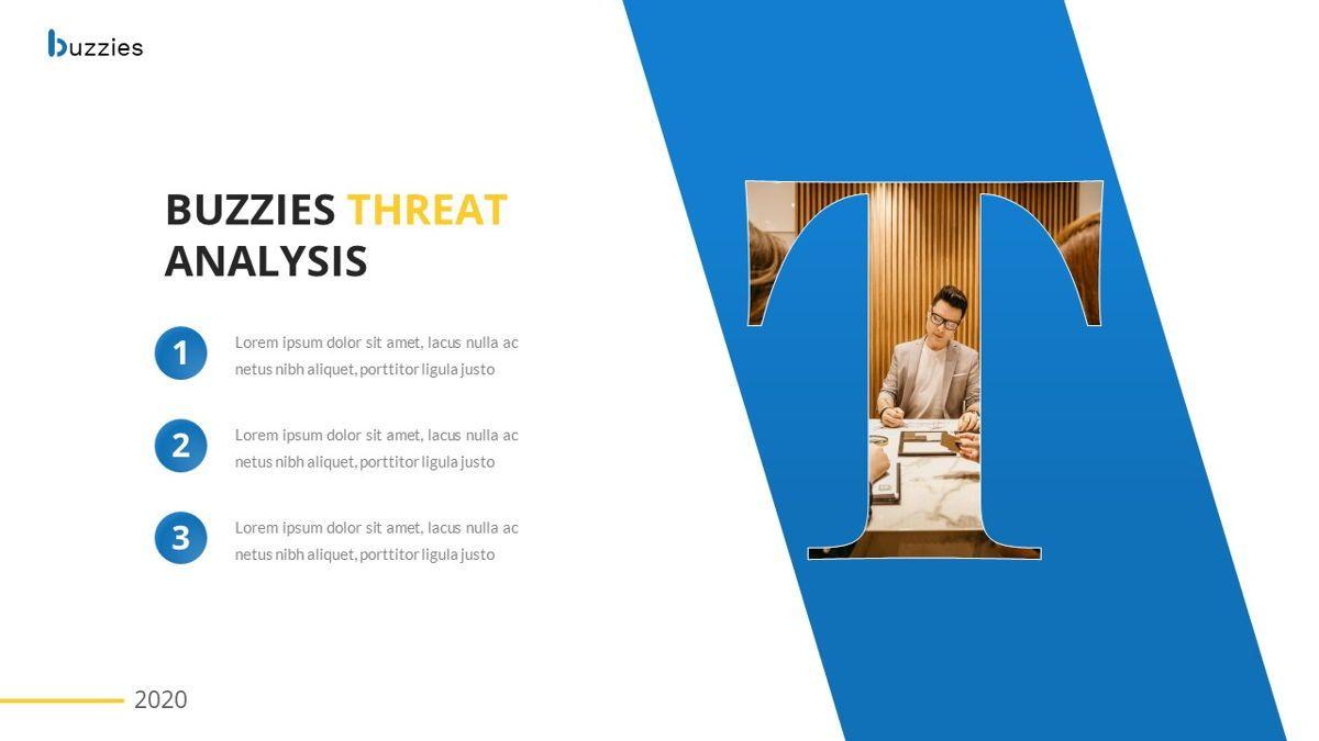Buzzeies - Business presentation Template, Slide 29, 06679, Presentation Templates — PoweredTemplate.com